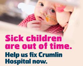 Support Crumlin hospital