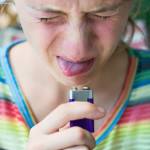 Dangers of batteries to children